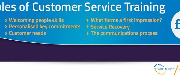 WorldHost Principles of Customer Service Training Course