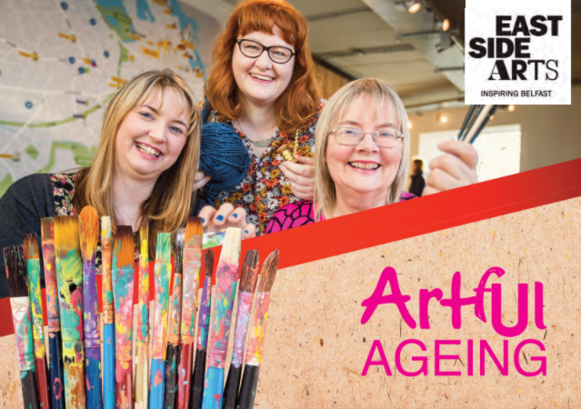 Free creative classes for seniors in East Belfast - Artful Ageing by Eastside Arts