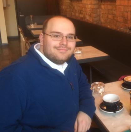 Erasmus Trainee Gerrit Profile Photo