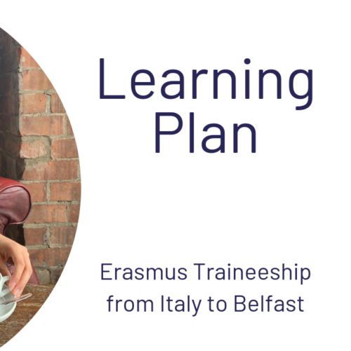 Learning Plan Erasmus Traineeship Italy Belfast - Graphic